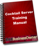COCKTAIL SERVER TRAINING MANUAL