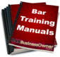 BAR TRAINING MANUALS