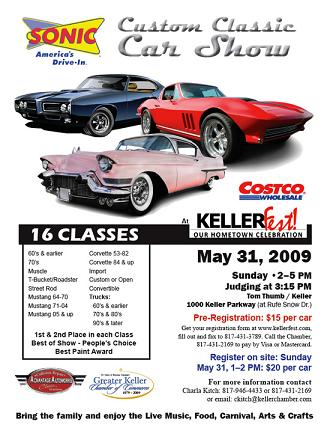 How To Successfully Host A Car Show At Your Bar - Keller car show